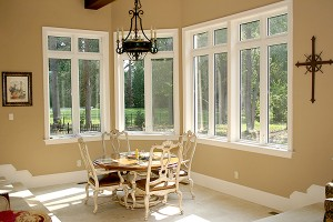 BF Rich Vinyl Casement WIndows